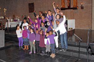 Kinderkoor training B-UNO @ Maria en Johannes onder het Kruis Kerk